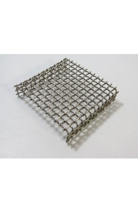 Grill for baking, stainless steel 3 1/2 X 3 X 3/4 inch - ( Pack of 1 ) Ref: 422