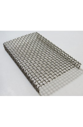 Grill for baking, stainless steel 4 X 7 1/4 X 3/4 inch - ( Pack of 1 ) Ref: 424
