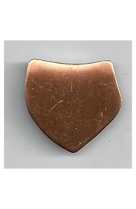 Coat of arms 1 X 1 inch - ( Pack of 10 ) Copper Ref: 434
