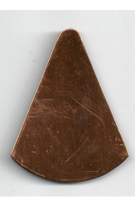 Cone 1 13/16 X 2 3/8 inch - ( Pack of 3 ) Copper Ref: 439