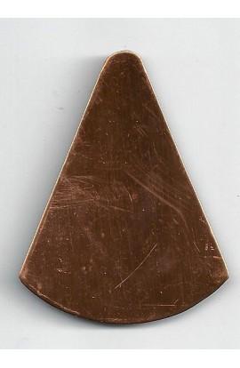 Cone 1 13/16 X 2 3/8 inch - ( Pack of 3 ) Copper Ref: 439