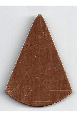Cone 2 3/8 X 2 15/16 inch - ( Pack of 5 ) Copper Ref: 500