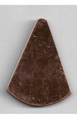 Cone 1 9/16 X 2 1/8 inch - ( Pack of 5 ) Copper Ref: 501