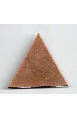 Triangle 1 15/16 X 1 3/4 inch - ( Pack of 5 ) Copper Ref: 600