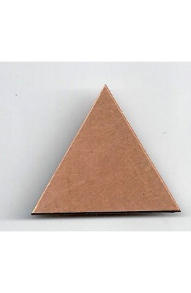 Triangle 1 3/8 X 1 1/4 inch - ( Pack of 10 ) Copper Ref: 601