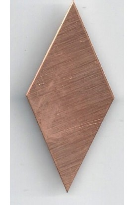 Diamond 1 3/16 X 2 15/16 inch - ( Pack of 10 ) Copper Ref: 602