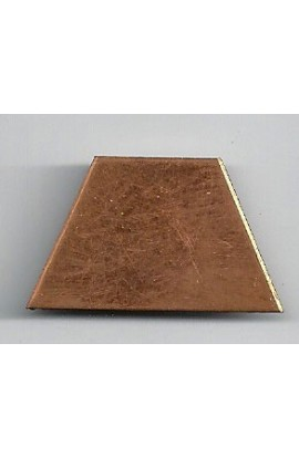 Diamond 1 1/4 X 3/4 inch - ( Pack of 10 ) Copper Ref: 603