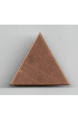 Triangle 1 3/16 X 1 inch - ( Pack of 10 ) Copper Ref: 605