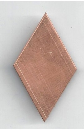 Diamond 1 1/16 X 1 3/4 inch - ( Pack of 10 ) Copper Ref: 606