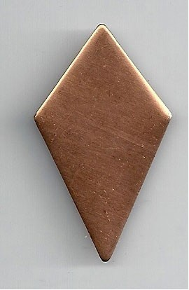 Diamond 1 X 1 3/4 inch - ( Pack of 10 ) Copper Ref: 703
