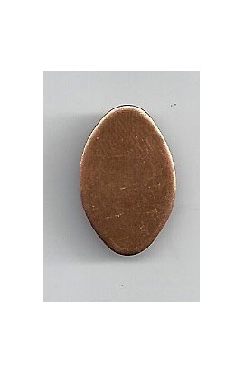 Egg 9/16 x 7/8 inch - ( Pack of 10 ) Copper Ref: 707