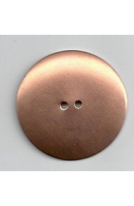 Button, domed Ø 1 1/2 inch - ( Pack of 5 ) Copper Ref: 79