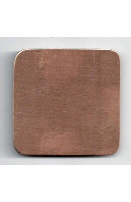 Square 2 inch - ( Pack of 5 ) Copper Ref: 764