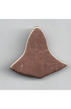 Bell 1 1/8 X 1 1/16 inch - ( Pack of 10 ) Copper Ref: 810