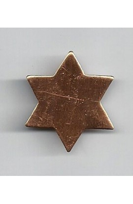 Star 15/16 X 1 1/16 inch - ( Pack of 10 ) Copper Ref: 812