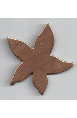 Sea star 2 1/2 X 2 7/16 inch - ( Pack of 3 ) Copper Ref: 863
