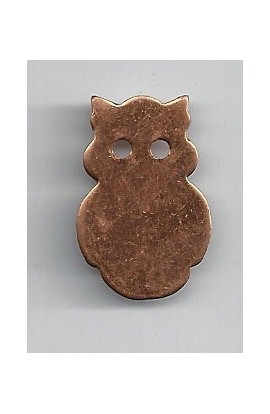 Owl 3/4 X 1 1/16 inch - ( Pack of 5 ) Copper Ref: 893