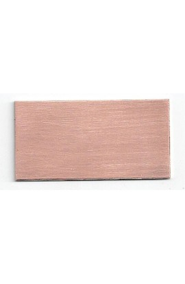 Rectangle 1 X 2 inch - ( Pack of 10 ) Copper Ref: 106