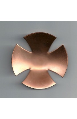 Cross domed 3 inch - ( Pack of 1 ) Copper Ref: 903