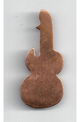 Guitar 3/4 X 1 3/4 inch - ( Pack of 10 ) Copper Ref: 938