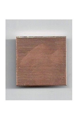 Square 7/8 X 7/8 inch - ( Pack of 10 ) Copper Ref: 202