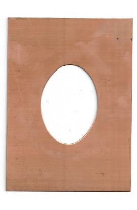 Picture frame 7 X 5 inch - ( Pack of 1 ) Copper Ref: 952