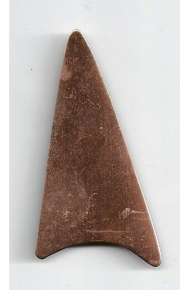 Arrow tip 1 3/8 X 2 5/8 inch - ( Pack of 5 ) Copper Ref: 954