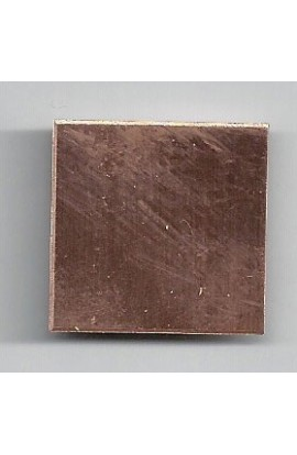 Square 1 X 1 inch - ( Pack of 10 ) Copper Ref: 203
