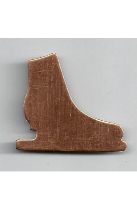 Blade skate 1 1/2 X 1 3/8 inch - ( Pack of 10 ) Copper Ref: 956