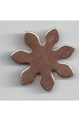 Flower Ø 1 5/16 inch - ( Pack of 10 ) Copper Ref: 960