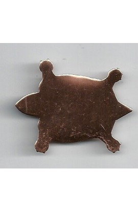 Turtle 1 11/16 X 1 3/16 inch - ( Pack of 10 ) Copper Ref: 963