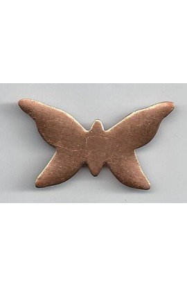 Butterfly 1 5/8 X 15/16 inch - ( Pack of 10 ) Copper Ref: 971