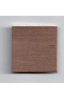 Square 1 1/4 X 1 1/4 inch - ( Pack of 10 ) Copper Ref: 205
