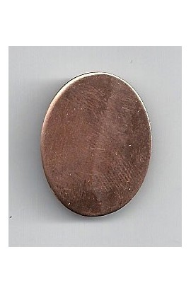 Oval 13/16 X 1 1/16 inch - ( Pack of 10 ) Copper Ref: 981