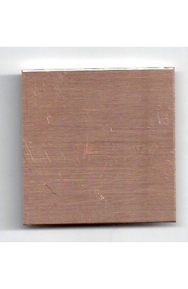 Square 1 1/2 X 1 1/2 inch - ( Pack of 10 ) Copper Ref: 206