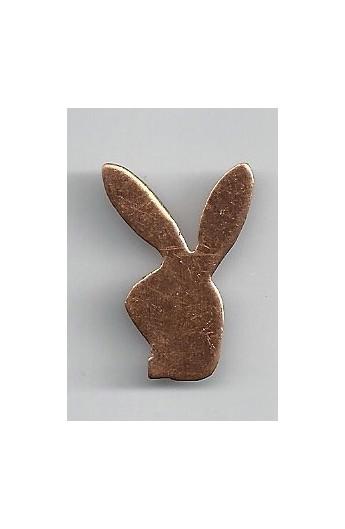 Rabbit head 3/4 X 1 1/8 inch - ( Pack of 10 ) Copper Ref: 988
