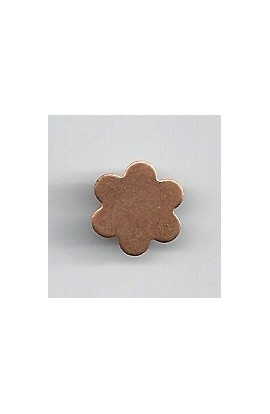 Flower 1/2 X 1/2 inch - ( Pack of 10 ) Copper Ref: 999
