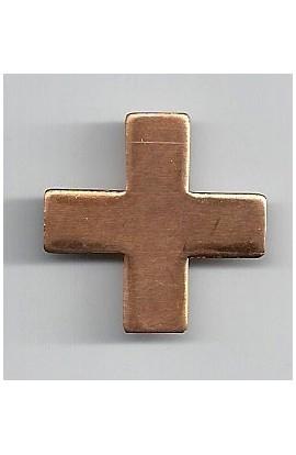 Cross 1 1/16 X 1 1/16 inch - ( Pack of 10 ) Copper Ref: 1003