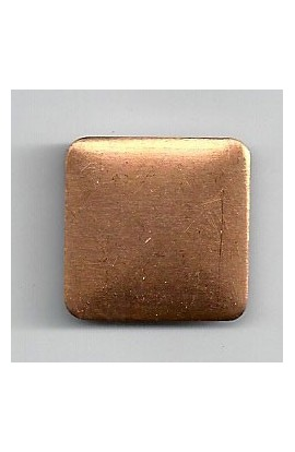 Square, domed 13/16 X 13/16 inch - ( Pack of 10 ) Copper Ref: 1006