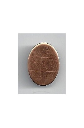 Oval 9/16 X 11/16 inch - ( Pack of 10 ) Copper Ref: 1016