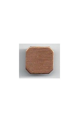 Square 1/2 X 1/2 inch - ( Pack of 10 ) Copper Ref: 1019
