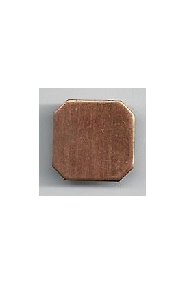 Square 5/8 X 5/8 inch - ( Pack of 10 ) Copper Ref: 1020
