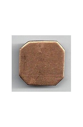 Square 3/4 X 3/4 inch - ( Pack of 10 ) Copper Ref: 1021