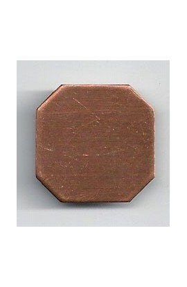 Square 7/8 X 7/8 inch - ( Pack of 10 ) Copper Ref: 1022