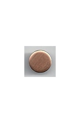Disc Ø 3/8 inch - ( Pack of 10 ) Copper Ref: 298