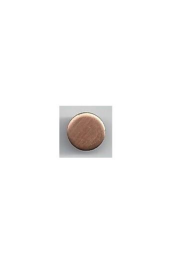 Disc Ø 3/8 inch - ( Pack of 10 ) Copper Ref: 298