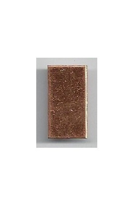 Rectangle 7/16 X 3/4 inch - ( Pack of 10 ) Copper Ref: 1026