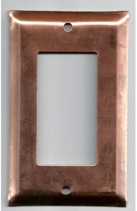Electric plate, décora 2 7/8 X 4 1/2 inch - ( Pack of 1 ) Copper Ref: 1027