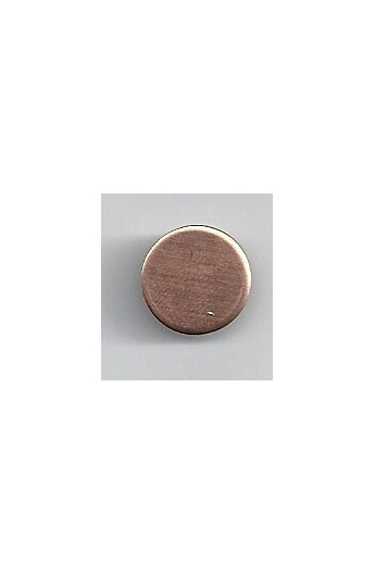 Disc Ø 1/2 inch - ( Pack of 10 ) Copper Ref: 299