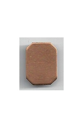 Octagon 9/16 X 3/4 inch - ( Pack of 10 ) Copper Ref: 1036